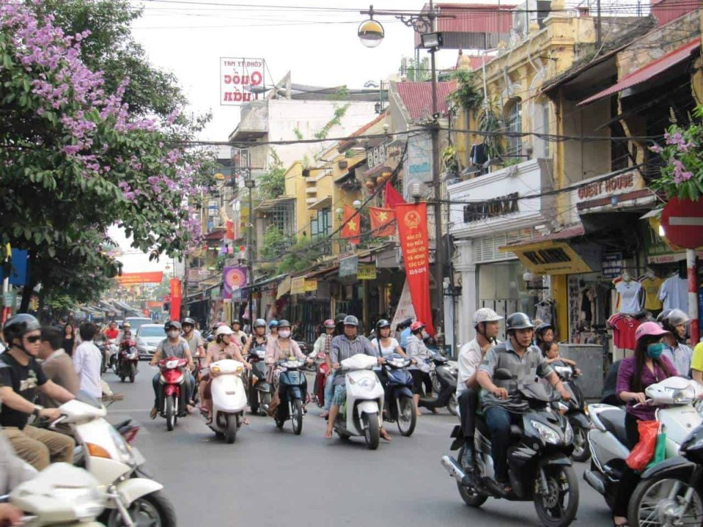 Vietnam - Hanoi - Roller