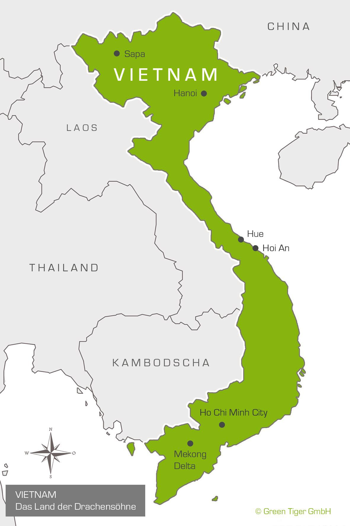 Your Expert For Travel To Vietnam Green Tiger Travel